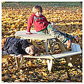 BrackenStyle Kids Octagonal Pine Table - Seats 8