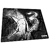 Ozone Rock Micro-Texture Cloth Mousepad - White