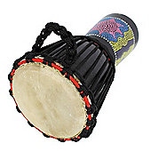 A-Star 7 inch Painted Djembe