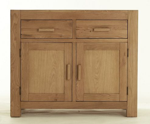 Thorndon Block Two Door Sideboard in Natural Matured Oak