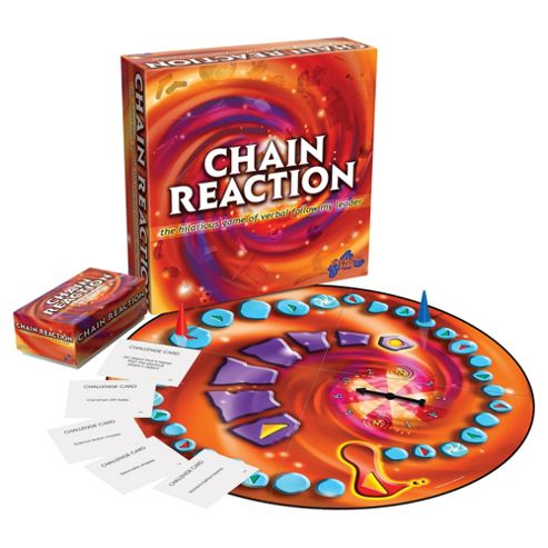 chain reaction game answers