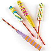 Party Bag Paper Sword Flickers (Pack of 6)