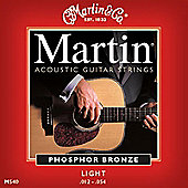 Martin MG140 Acoustic Guitar Light Gauge Strings