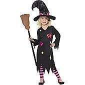 Child Cinder Witch Halloween Costume Toddler