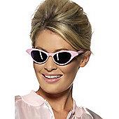 Jewelled Rock N' Roll 50S Glasses