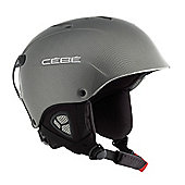 Cebe Contest Ski Helmet Metallic Black 55-58
