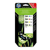 HP 940XL Ink Cartridge Combo Pack