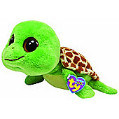 "TY Beanie Boo Buddy 10"" Plush Turtle Sandy"
