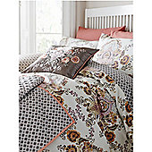 Linea Jaipur King Duvet Cover Set In Beige