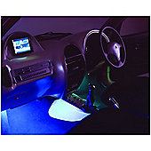 Prism 6 Inch Blue Light Cold Cathode Accent Tube Car Tuning
