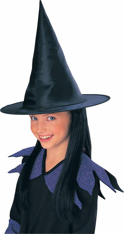 Fancy Dress - Witch Hat & Hair - Rubies