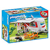 Playmobil 5434 Summer Fun Camping Family Caravan