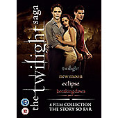 The Twilight Saga - 4 Film Collection (DVD Boxset)