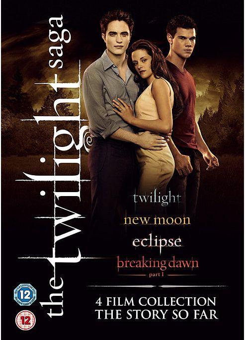 The Twilight Saga - 4 Film Collection (DVD Boxset)