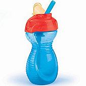 Munchkin Click Lock Flip Straw Cup 10oz Blue