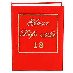 18th Birthday Photo Albums - Your Life Book