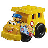 Mega Bloks First Builders Lil Vehicle Sonny School Bus