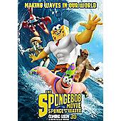 The Spongebob Movie: Sponge Out of Water 3D Blu-Ray