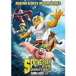 The Spongebob Movie: Sponge Out of Water 3D Blu-Ray