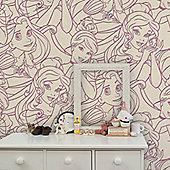 Disney Princess Flock Wallpaper