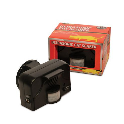 Motion Activated Ultrasonic Cat Scarer