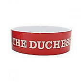 "Mason Cash Red Dog Bowl ""The Duchess"""