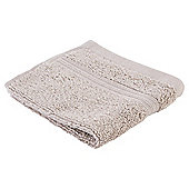 Tesco Hygro 100% Cotton Face Cloth, Taupe
