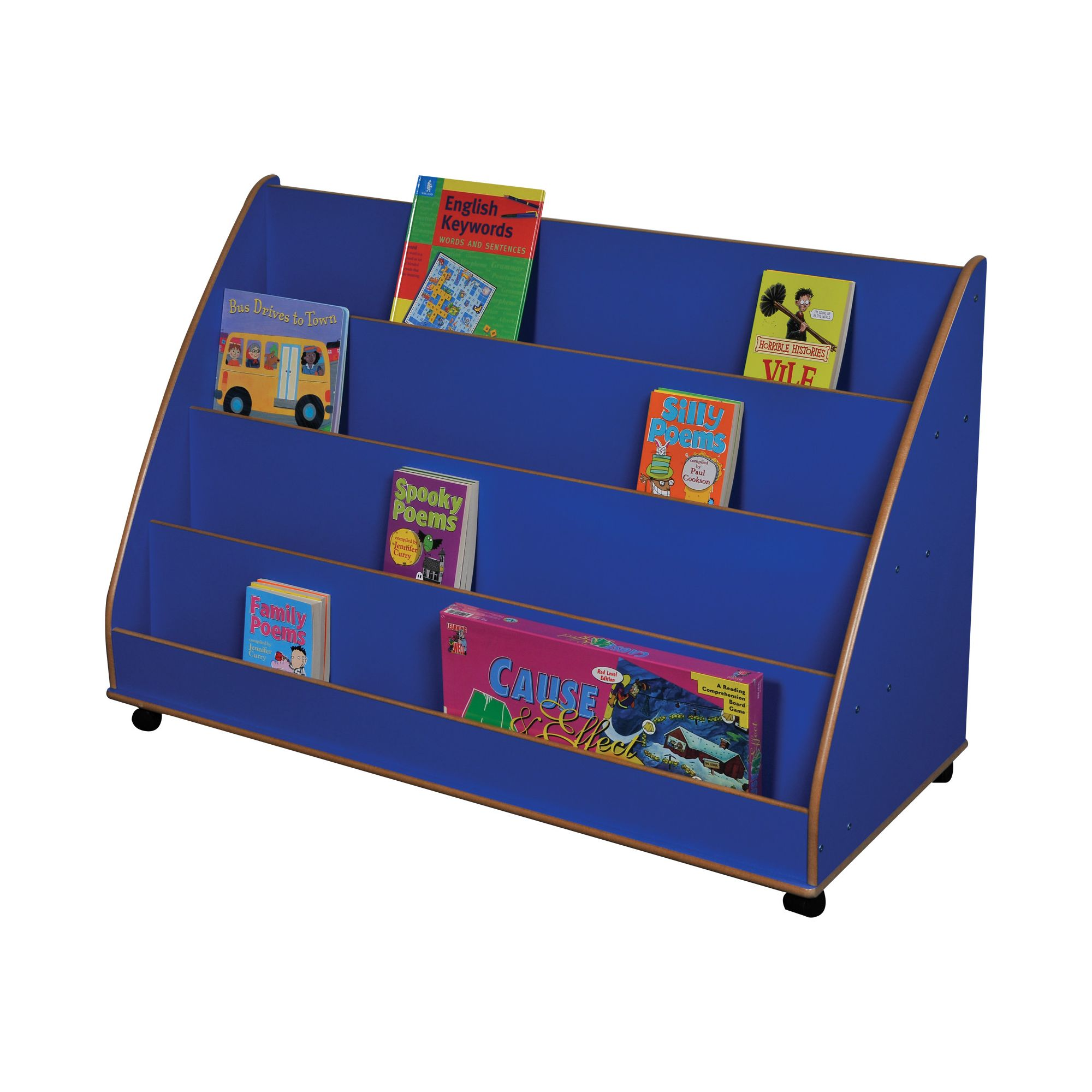 Liberty House Toys Primary Coloured Midi Book Display at Tesco Direct