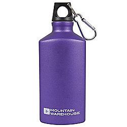 0.5L 500ml Drinks Drinking Water Flask Triangular Bottle - Matt Metallic Plain