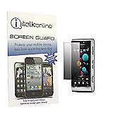 S-Protect LCD Screen Protector & Micro Fibre Cleaning Cloth - Sony Ericsson SATIO