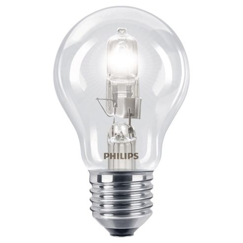Philips EcoClassic Dimmable Halogen Traditional Light Bulb (28W E27 A55)