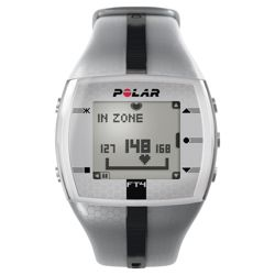 Polar FT4 Silver / Black Sports Watch