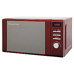 Russell Hobbs Solo Microwave RHM2064R 20L, Red