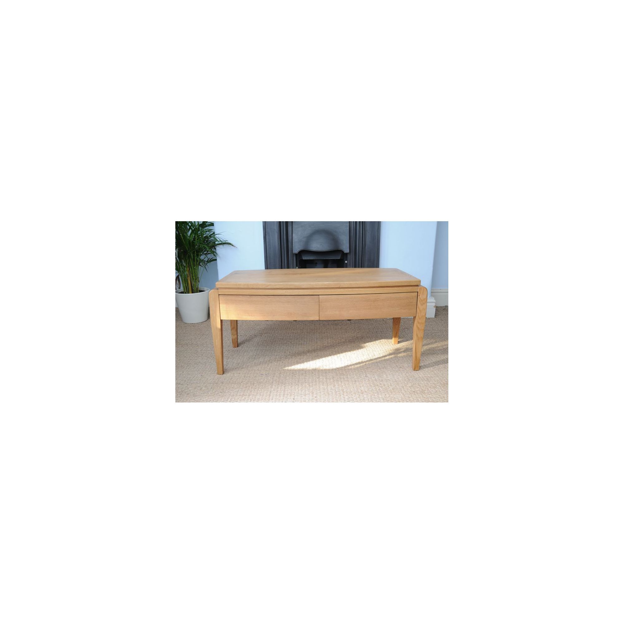 Oceans Apart Belvedere Oak Coffee Table at Tesco Direct