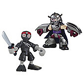 Teenage Mutant Ninja Turtles Pre-Cool Half Shell Heroes Shredder and Foot Solider Figures