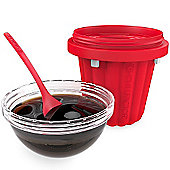 Chill Factor Squeeze 'n Flip Jelly Maker - Red