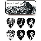 Elvis Presley King Pick Tin - Medium - 12 Picks