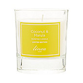 Linea Coconut & Marula Single Candle In White