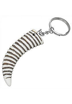 Urban Male Extra Large Lucky Horn Bone Keyring For A Man