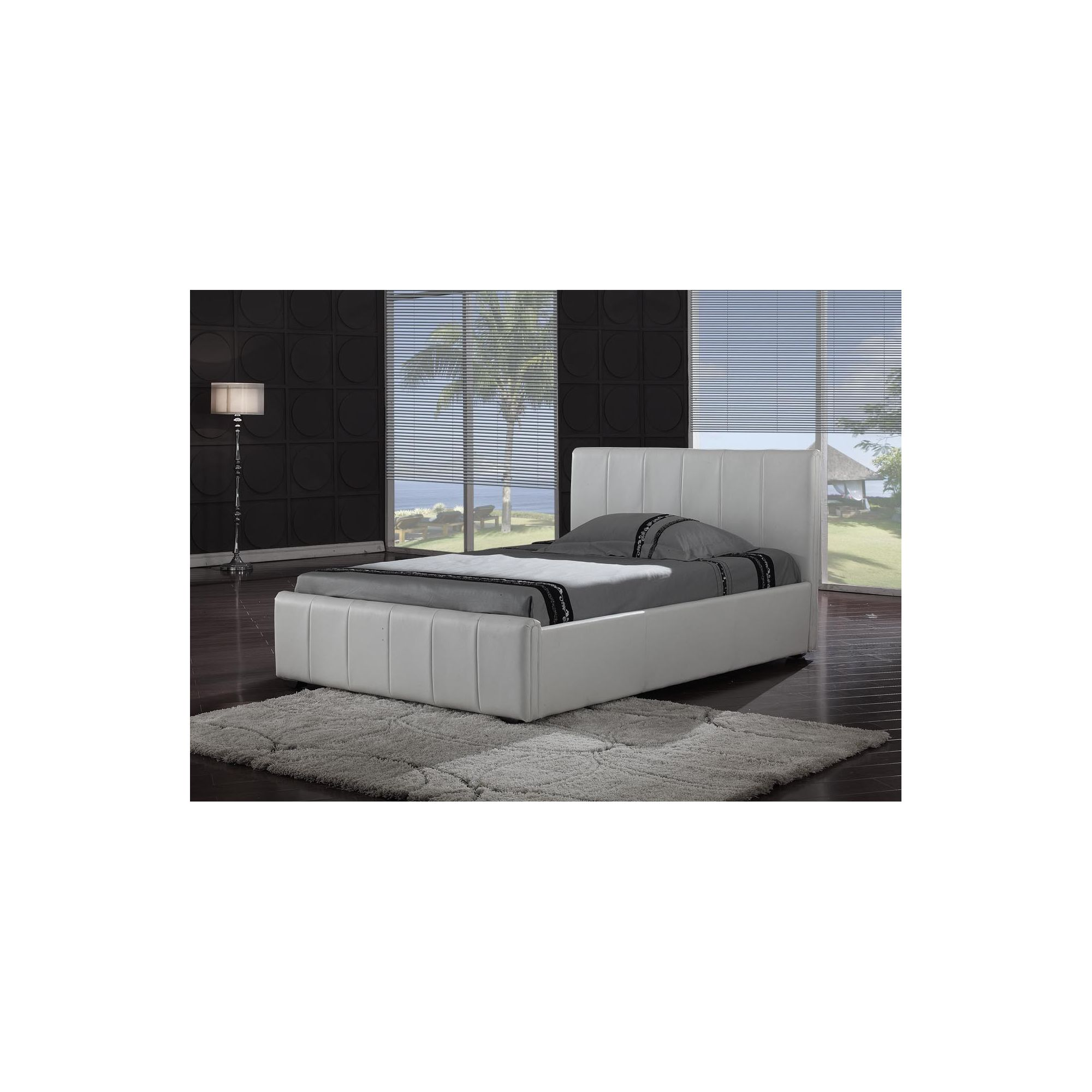 Interiors 2 suit Pisa Bedframe - Black - King at Tescos Direct