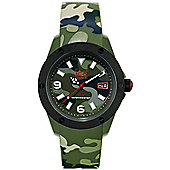 Ice-Watch Ice Army Mens Silicone Date Watch IA.KA.XL.R