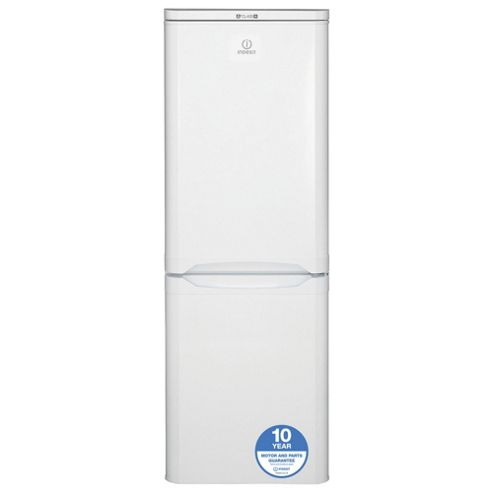 Indesit Fridge Freezer, NCAA55, White