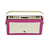 ViewQuest Hepburn MkII DAB/DAB+/FM Radio with Bluetooth (Deep purple)