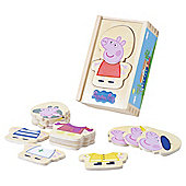 Wooden Dress-up Peppa pig