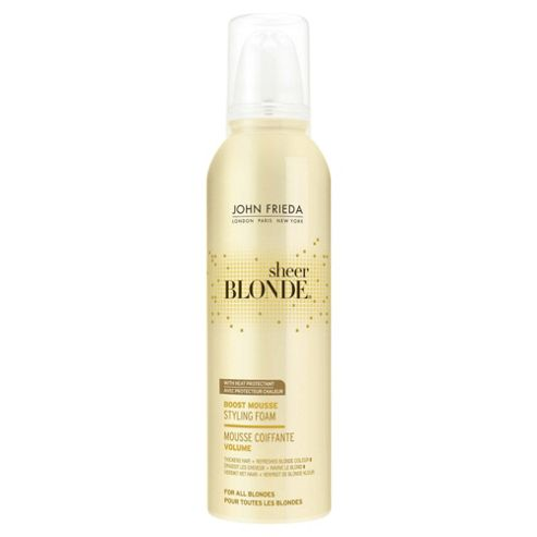 John Frieda Sheer Blondeboost Mousse 200ml