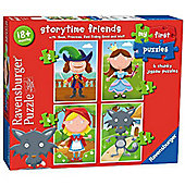 Storytime Friends - 4 in 1 Puzzle