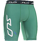Subsports Cold Thermal Shorts Adult - Green