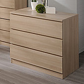 Parisot Home 3 Drawer Chest - Bruges