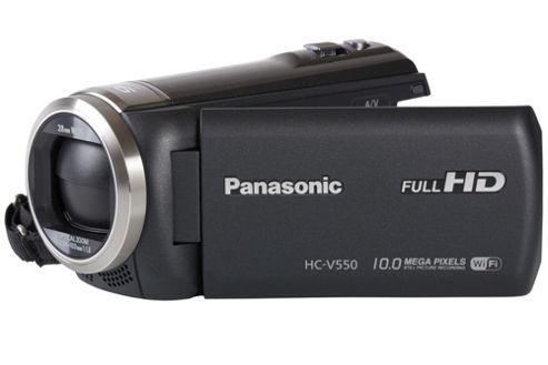 Panasonic HC-V550CT Camcorder Black FHD 2.51mp 50xZoom 3.0LCD WiFi SD/SDHC/SDXC