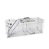 Havahart Pest Control 1092 Large Single Door Collapsible Easy Set Live Cage Trap